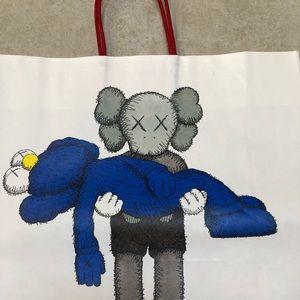 KAWS Paper Bag